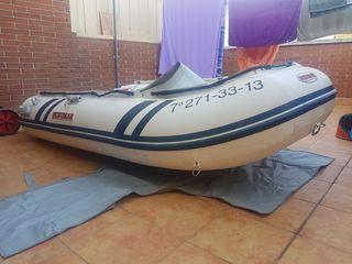 embarcación neumatica barca tipo zodiac