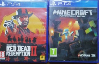 Minecraft y red dead redemption 2