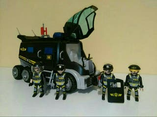 PLAYMOBIL 9360 FURGON POLICIA