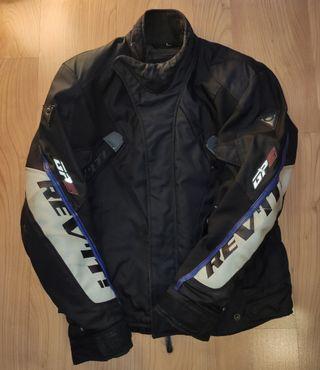 Cazadora chaqueta cuero moto hombre Revit L