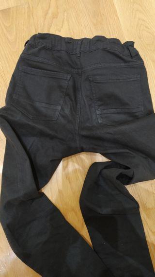 vaquero negro kiabi