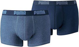 PUMA Basic Trunk 2P Boxer Pantalones Cortos