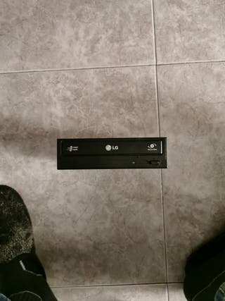 """Grabado CD/DVD marca LG de 3,5"""""""