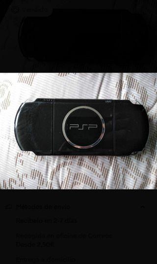PSP 3000, usada un par de veces