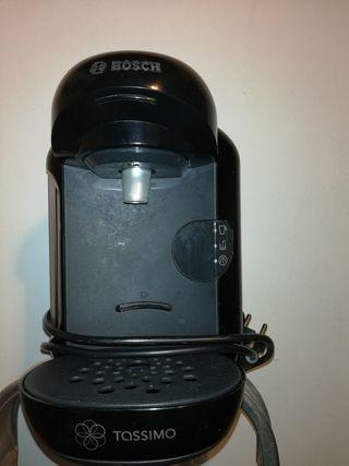 Cafetera Tassimo Bosch con dispensador de cápsulas