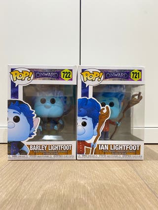 Figuras funko POP! Onward Ian y Barley Lightfoot