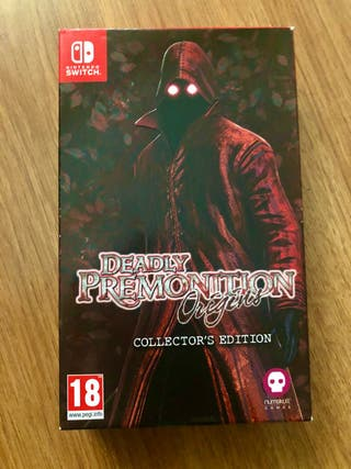 DEADLY PREMONITION COLLECTOR - SWITCH