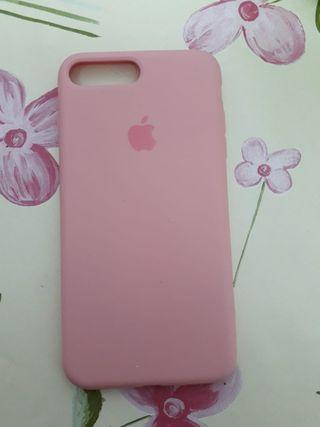 Funda IPHONE rosa 7s/8plus nueva