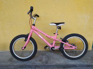 Bicicleta Monty niños, rueda de 16 pulgadas