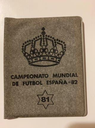 Cartera Monedas España Seria Mundial 82