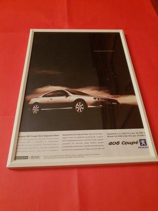 Peugeot 406 coupe cuadro