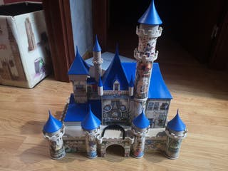 puzzle 3D castillo disney