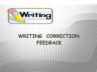 Corrección de Redacciones en Inglés