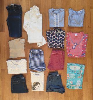 Lote ropa niña 8 años