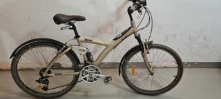 bicicleta urbana doble suspension