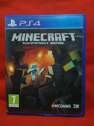 MINECRAFT: PLAY STATION 4 EDITION PS4