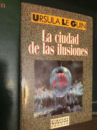 Un montón de libros ciencia ficción