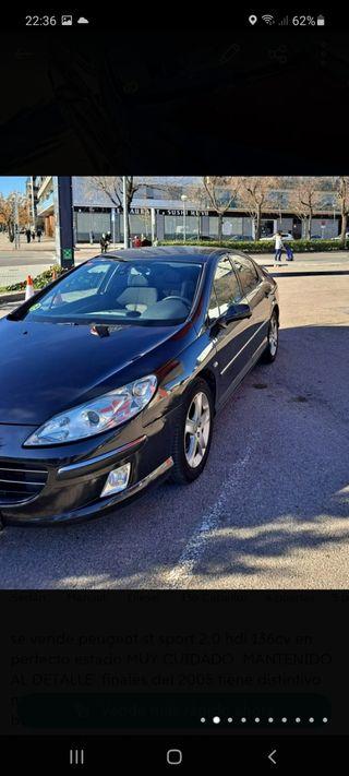 Peugeot 407 2.0 HDI 136cv 2006 cambio por coche gasolina solo interesados no negociable