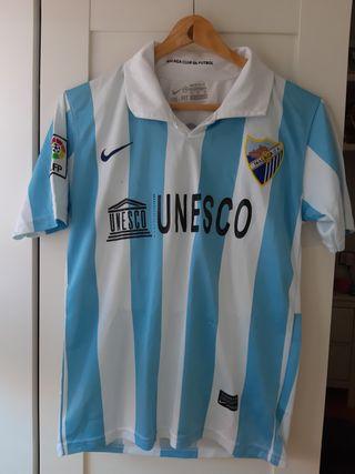 Camiseta del Malaga de Joaquin