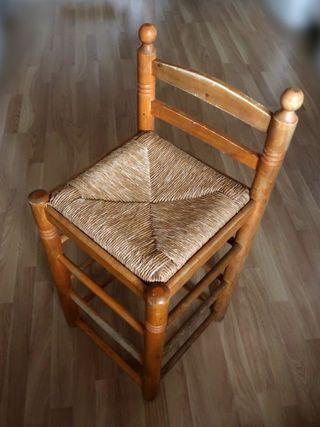 Taburete madera (vintage)