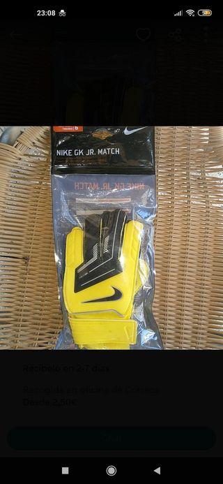 Guantes Portero Nike