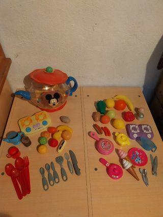 cocina utensilios infantil juguete