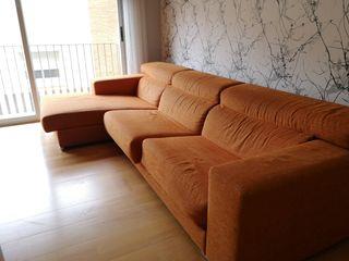 Sofá de 4 plazas con chaise longue