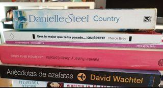 Libros variados en inglés y español