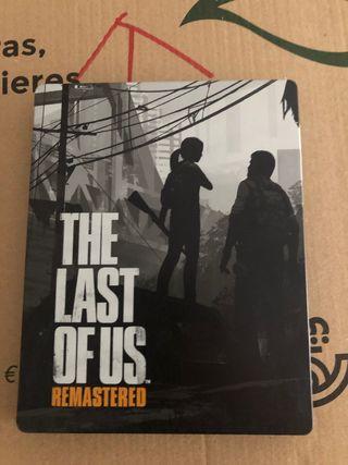 THE LAST OF US STEELBOOK - PS4