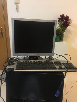 Pantalla, teclado