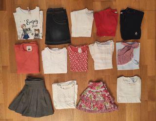 Lote ropa niña 6-7 años