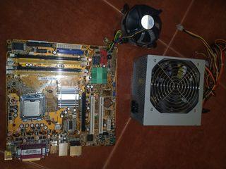 Placa Base Asus socket 775 Intel Core 2 Duo Fuente