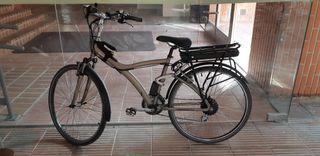 Bici paseo electrica. Con kit electrico Ciclotek