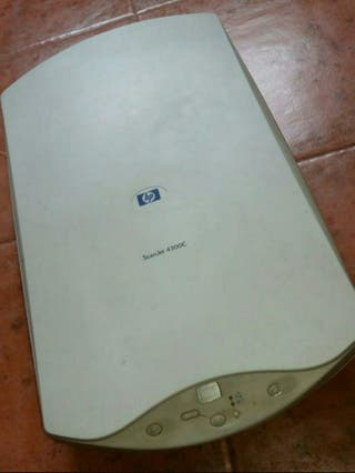 Scaner HP SCANJET 4300C. Tipo Componentes y recam