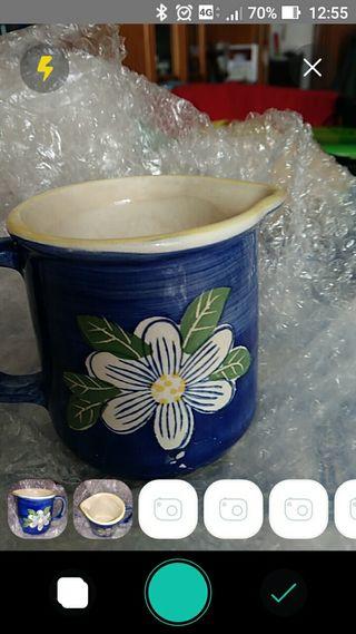 barrita lechera cerámica artesania
