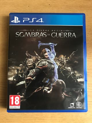 SOMBRAS DE GUERRA- PS4