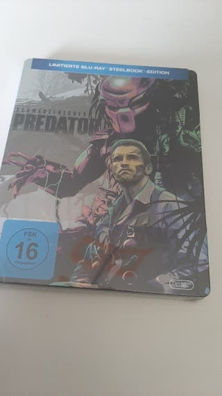 Depredador steelbook bluray