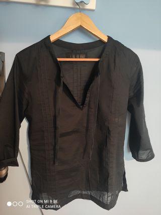 Camisa Negra 100% algodón