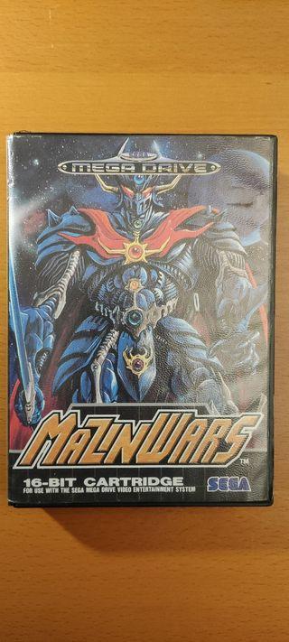 Mazinwars Sega Megadrive