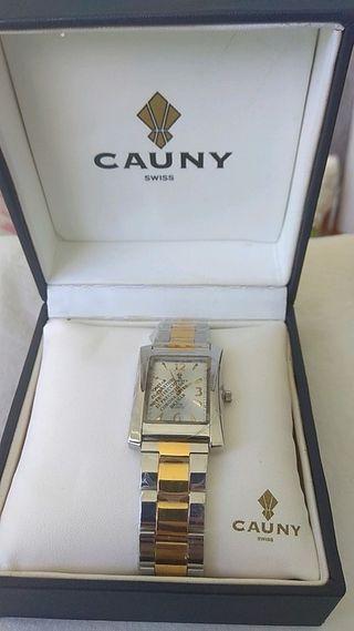 reloj suizo CAUNY