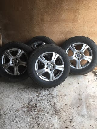 Neumáticos y llantas de aluminio Bridgestone