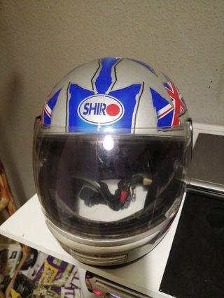 casco integral de moto