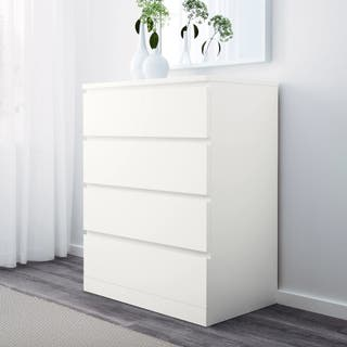 MALM IKEA. COMODA 4 CAJONES