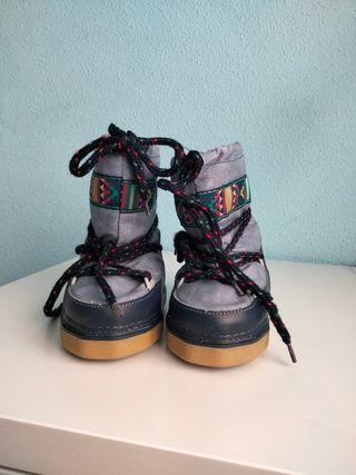 botas nieve niño T 26