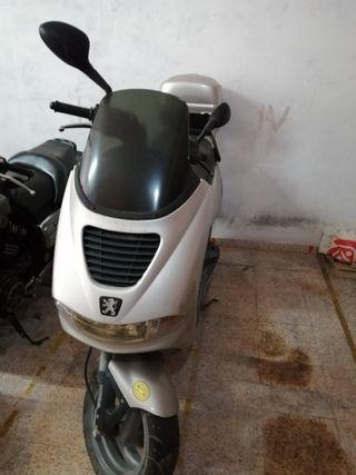 Moto peugeot 49cc