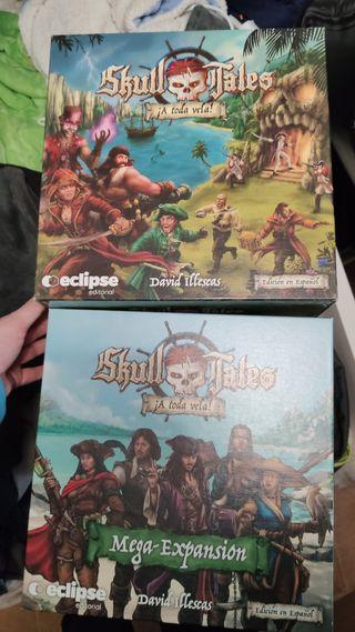 Skull Tales. A toda vela! Edición Kickstarter