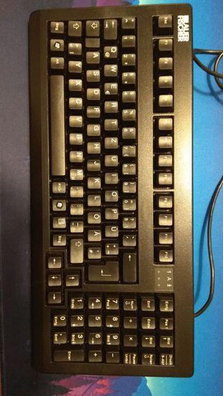 teclado mecanico Cherry MX1800 switches black