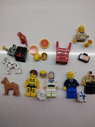 lego minifiguras y accesorios