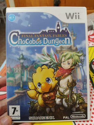Final Fantasy Chocobos Dungeon - Wii