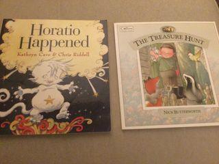 2 libros infantiles en inglés